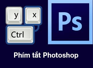 phím tắt thông dụng trên adobe photoshop