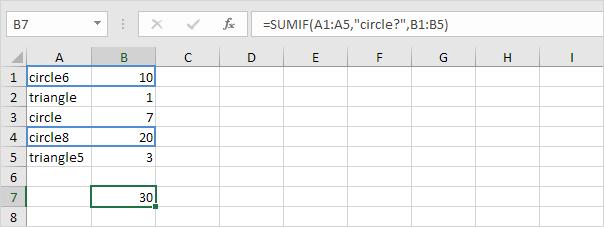 ví dụ hàm sumif 7
