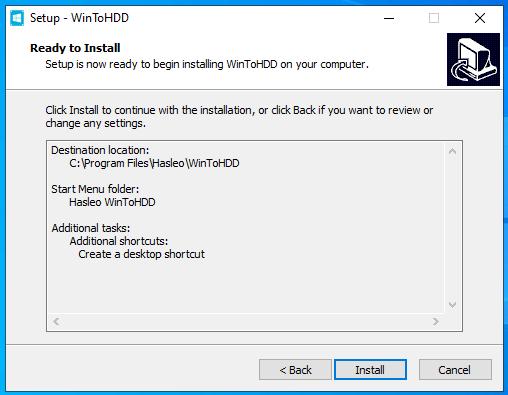 cài đặt phần mềm wintohdd hình 6
