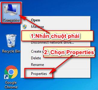 kiểm tra cấu hình windows 7