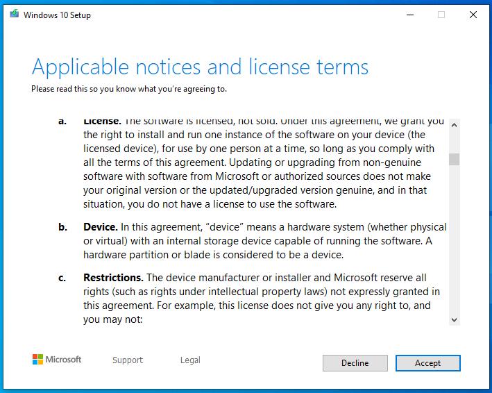 nâng cấp windows 7, 8, 8.1 lên windows 10 hình 5
