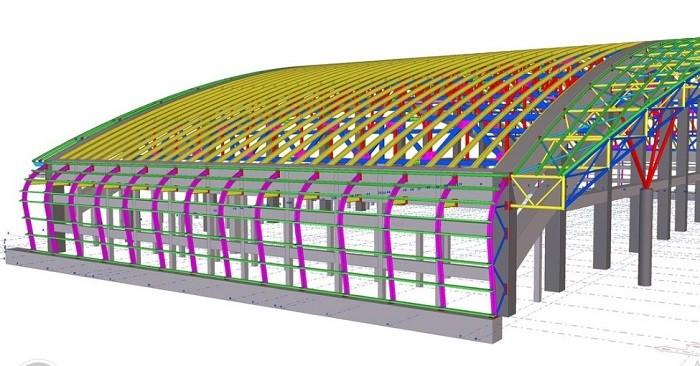 Phần mềm Tekla giúp tiết kiệm chi phí cho nhà thầu gia công cốt thép
